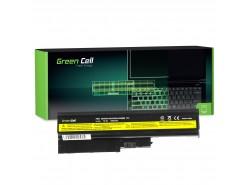 Green Cell Batterie 92P1138 92P1139 42T4504 42T4513 pour Lenovo ThinkPad R60 R60e R61 R61e R61i R500 SL500 T60 T61 T500 W500