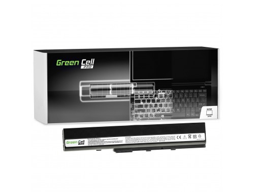Green Cell PRO Batterie A32-K52 pour Asus A52 A52F A52N K42 K52 K52D K52F K52J K52JB K52JC K52JE K52N X52 X52F X52J X52N