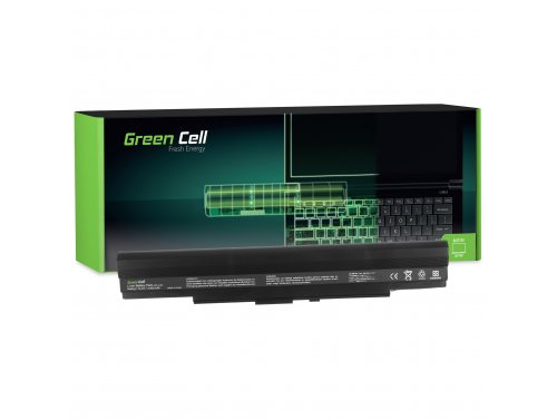 Green Cell Batterie A42-UL30 A42-UL50 A42-UL80 pour Asus U30 U30J U30JC UL30 UL30A UL30VT UL50 UL50A UL50AG UL80 UL80J UL80V