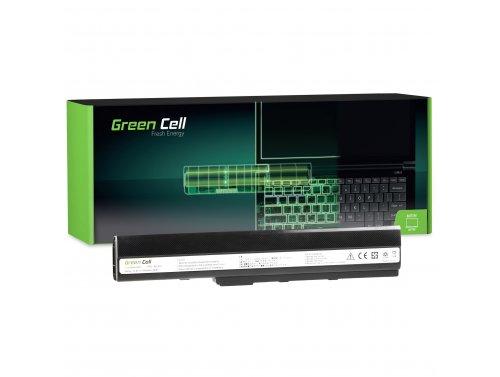 Green Cell Batterie A32-K52 pour Asus A52 A52F A52N K42 K52 K52D K52F K52J K52JB K52JC K52JE K52JR K52N X52 X52F X52J X52N