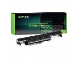 Green Cell Batterie A32-K55 pour Asus R400 R500 R500V R500VJ R700 R700V K55 K55A K55VD K55VJ K55VM K75V X55A X55U X75V X75VB
