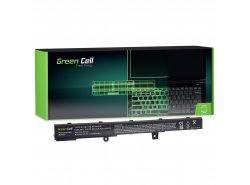 Green Cell Batterie A41N1308 A31N1319 pour Asus R508 R509 R512 R512C X551 X551C X551CA X551M X551MA X551MAV X751L