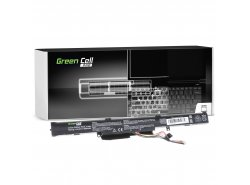 Green Cell PRO Batterie A41-X550E pour Asus A550 F550 F550D K550 K750 R510 R510D R510DP R750 R752L X450 X550 X550D X750 X751L