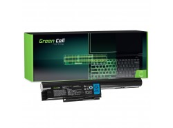 Green Cell ® Batterie FPCBP274 FMVNBP195 pour Fujitsu LifeBook BH531 LH531 SH531
