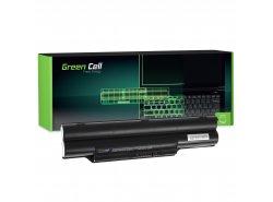 Green Cell Batterie FPCBP145 pour Fujitsu-Siemens LifeBook E751 E752 E782 E8310 P771 P772 T580 S710 S751 S752 S760 S762 S782