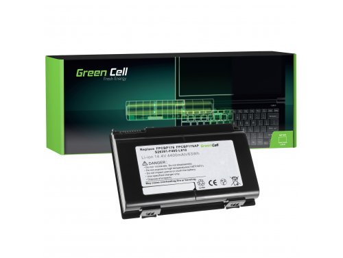 Green Cell Batterie FPCBP176 pour Fujitsu LifeBook E8410 E8420 E780 N7010 AH550 NH570