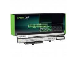 Green Cell ® Batterie BTY-S11 BTY-S12 pour MSI Wind U90 U100 U110 U120 U130 U135 U135DX U200 U250 U270