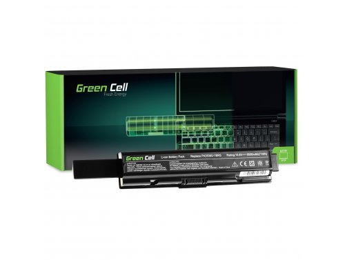 Green Cell Batterie PA3534U-1BRS pour Toshiba Satellite A200 A205 A300 A300D A350 A500 A505 L200 L300 L300D L305 L450 L500
