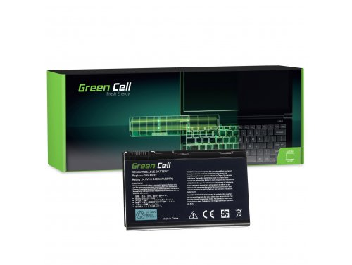 Green Cell Batterie GRAPE32 TM00741 TM00751 pour Acer Extensa 5210 5220 5230 5230E 5420 5620 5620Z 5630 5630EZ 5630G 14.8V