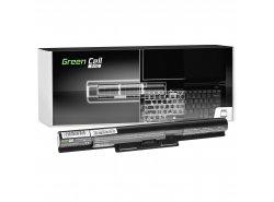 Green Cell PRO Batterie VGP-BPS35A VGP-BPS35 pour Sony Vaio SVF15 SVF14 SVF1521C6EW SVF1521G6EW Fit 15E Fit 14E