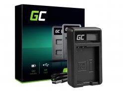 Chargeur de batterie de caméra MH-24 Green Cell ® pour Nikon EN-EL14, D3200, D3300, D5100, D5200, D5300, D5500, Coolpix P7000