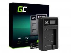 Chargeur de batterie de caméra CB-2LY Green Cell ® pour Canon NB-6L/6LH, PowerShot SX510 HS, SX520 HS, SX530 HS, SX600 HS