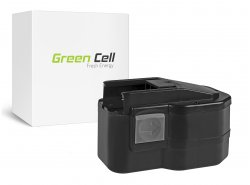 Green Cell ® Batterie 48-11-1014, 48-11-1024 pour Milwaukee PLD 14.4 X, PSG 14.4, LOKTOR S 14.4 TX 14.4V 3.3Ah