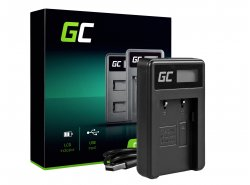 Chargeur CB-2LW Green Cell ® pour Canon NB-2L NB-2LH, Digital Rebel XT Elura 50 60 70 80 Optura 30 40 50 60 500 PowerShot G7 S5
