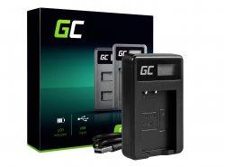Chargeur de batterie de caméra LC-E17 Green Cell ® pour Canon LP-E17, EOS 77D, 750D, 760D, 8000D, M3, M5, M6