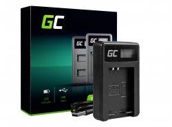 Chargeur LC-E12 Green Cell ® pour Canon LP-E12, EOS-M M2 M10 M100 100D Rebel SL1 (8.4V 5W 0.6A)