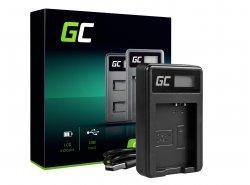 Chargeur de batterie de caméra LC-E10 Green Cell ® pour LP-E10, EOS Rebel T3, T5, T6, Kiss X50, Kiss X70, EOS 1100D, EOS 1200D