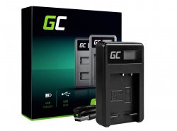 Chargeur BC-CSG Green Cell ® pour Sony NP-BG1 NP-FG1, DSC H10 H20 H50 HX5 HX10 HX20V N1 N2 T50 T100 W30L W35 W50 W70 WX10