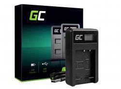 Chargeur de batterie de caméra BC-CSG Green Cell ® pour Sony NP-BG1/NP-FG1, DSC H10, H20, H50, HX5, HX10, T50, W50, W70
