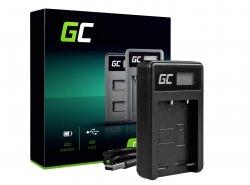 Chargeur de batterie de caméra BC-W126 Green Cell ® pour Fujifilm NP-W126, FinePix HS30EXR, HS33EXR, HS50EXR, X-A1, X-A3, X-E1