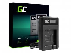Chargeur de batterie de caméra LI-50C Green Cell ® pour Olympus LI-50B, SZ-15, SZ-16, Tough 6000, 8000, TG-820, TG-830, TG-850