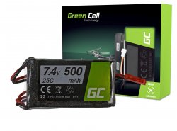 Green Cell ® Batterie 500mAh 7.4V