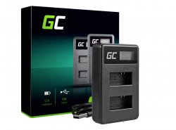Green Cell ® Chargeur de batteries AHBBP-301 pour HDBT-201, AHDBT-301, GoPro HD Hero 3, GoPro HD Hero 3+