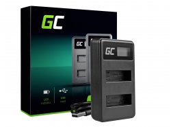 Green Cell ® Chargeur de batteries AHBBP-401 pour GoPro AHDBT-401, HD Hero4