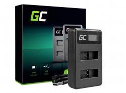 Chargeur de batterie de caméra AHBBP-501 Green Cell ® pour GoPro AHDBT-501, HD Hero5, HD Hero6+