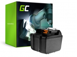 Green Cell ® Batterie BL1830 BL1860 pour visseuse perceuse Makita BDF450SFE BTL061RF BTW450RFE 6000mAh