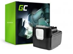 Green Cell ® Batterie BL1415 BL1430 BL1440 pour visseuse perceuse Makita 14.4V 4000mAh