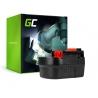 Batterie Green Cell (2Ah 12V) A12 A1712 A12EX HPB12 pour Black&Decker EPC12CA EPC12 H1 EPC12CABK HP122 HP126F2K EPC126 KC2000F