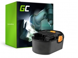 Green Cell ® Batterie pour visseuse perceuse AEG BS 14 G BS 14 X 14.4V 3Ah
