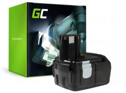 Green Cell ® für Hitachi BCL1815 C18DL 18V 2Ah