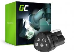 Batterie Green Cell (2Ah 12V) WA3503 WA 3503 WA3509 RW9300 pour WORX WX 126 WX 125 WU 127 WX125.3 WU127 WX125.M WX128.2 WX 382