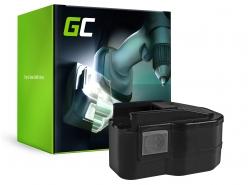 Batterie Green Cell (3.3Ah 12V) B12 MXL12 MXM12 M1230 Power Plus System pour AEG WB2E BS 12X 12T Super Milwaukee PES PDD PLD
