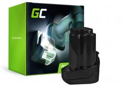 Green Cell ® Batteriepour Metabo 6.25439 10.8V 2Ah