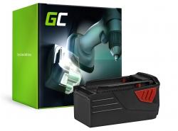 Green Cell ® Batteriepour HILTI TE6A 36V 3Ah