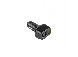 Chargeur de voiture 3 USB  Quick Charge Green Cell