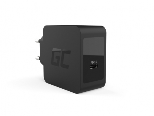 Chargeur avec USB-C Power Delivery 18W Samsung Galaxy S10 S10+ S20 S20+, iPhone SE (2020) / 11 / XS / X, Nintendo Switch