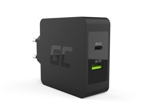 USB Chargeur 30W avec USB-C PD USB QC3.0 Apple MacBook 12, iPad Pro 2020, Lenovo Yoga Tab 3 Plus