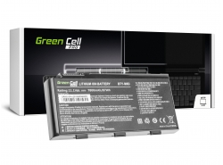 Green Cell ® PRO Batterie BTY-M6D pour MSI GT60 GT70 GT660 GT680 GT683 GT780 GT783 GX660 GX680 GX780