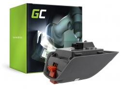 Green Cell ® Batterie pour Gardena Comfort 35 Roll-Up 8025-20
