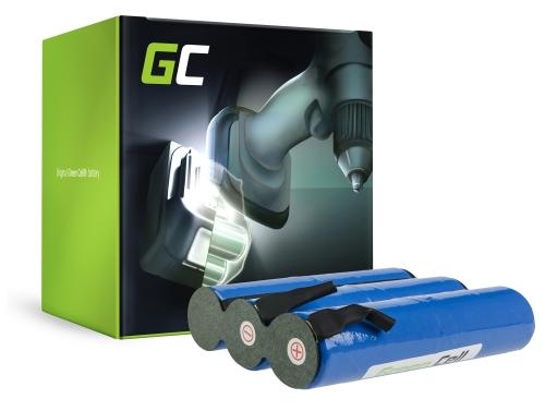 Batterie Green Cell (3.3Ah 7.2V) 02505-00.620.00 2505-00.620.00 pour Gardena Accu 6 ST 6 Bosch AGS10-6 AGS 70 AHS 18