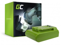 Green Cell ® Batterie pour GreenWorks 29852 G-24 G24 24V 2Ah