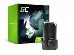 Green Cell ® Batterie BL1013 BL1014 pour Makita DA331DWE DF030D DF330D HP330DZ HS300DW TD090