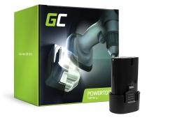 Green Cell ® Batterie BL7010 BL0715 pour Makita CL070 CL072 DF010 DF012 TD020 TD021 TD022