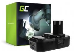 Green Cell ® Batterie ONE+ RB18L50 RB18L15 pour RYOBI R18AG0 R18JS0 R18PDBL RCD18022L RID1801M RMT1801M