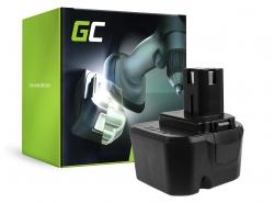 Green Cell ® Batterie B1222H B1230H BPT1025 pour Ryobi BD120 BD121 BD122 BID1211 BID1260 SA1202