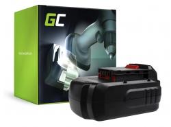 Green Cell ® Batterie PC18B pour Porter-Cable PC1800D PC180DK PC18AG PC18JR PC18JS PC18RS PC18SS